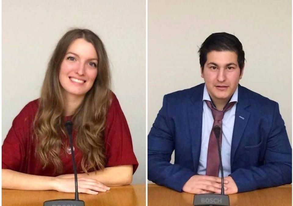 """Η Γραμματέας της ΟΚΕ Δήμητρα Τσεκουρά και ο Τομεάρχης Άμυνας Δημήτρης Πουλής λένε """"πώς αντιμετωπίζεται η διαφθορά"""""""
